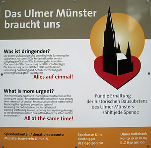 Germany - Ulm, Jul 2008, Ulm Cathedral