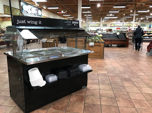 3/14/2020 Mike Orazzi | Staff Price Chopper in Bristol on Saturday.