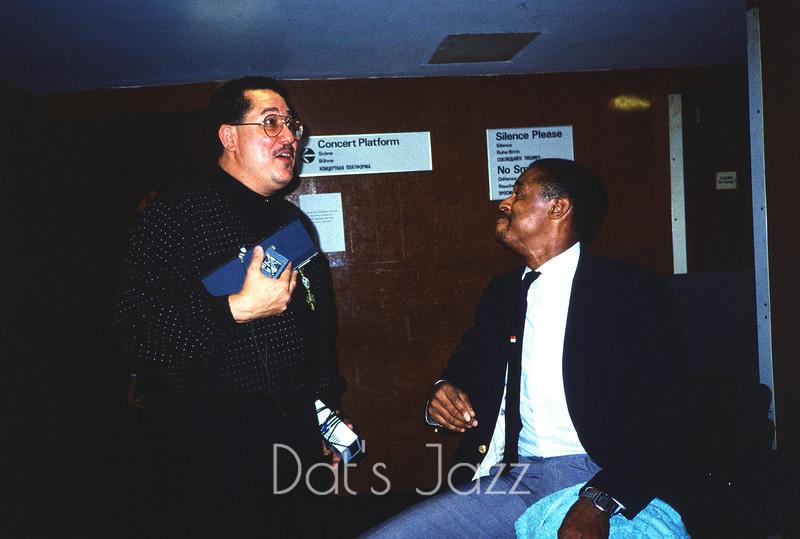PAQUITO D'RIVERA & DAVID GIBSON