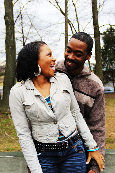 Derrica and Jermaine Engagement Shoot