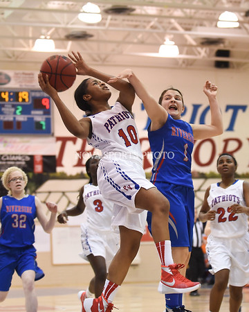 Girls Basketball: Riverside vs. Park View 2.8.16