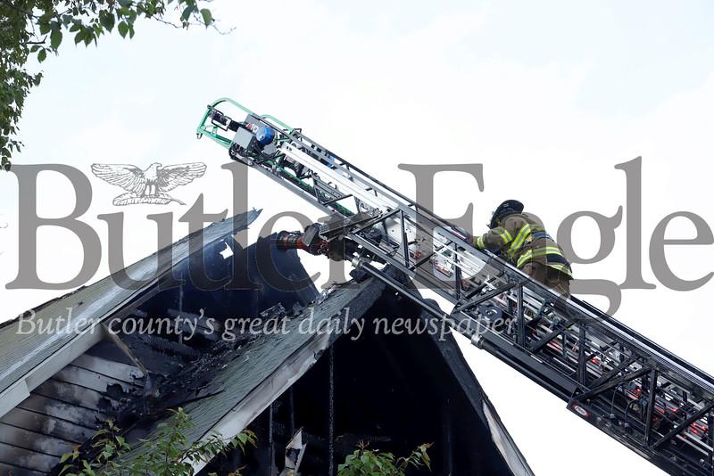 Church fire. Seb Foltz/Butler Eagle