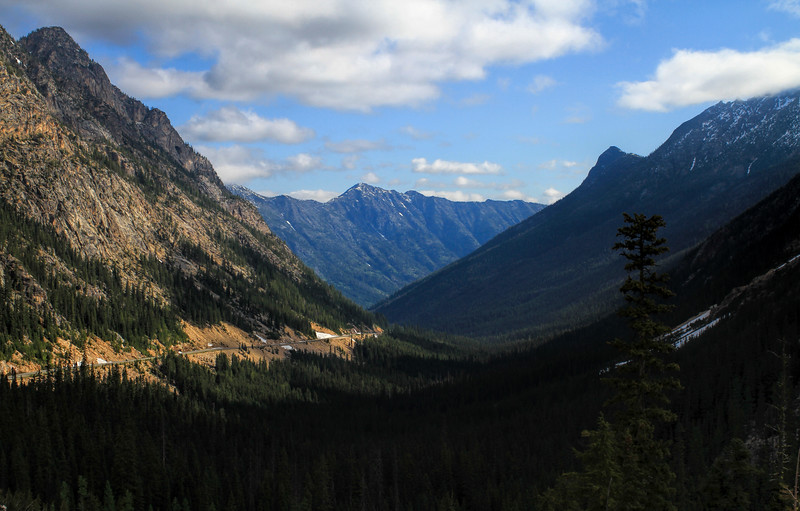 Breathtaking views of Washington Pass on the other side