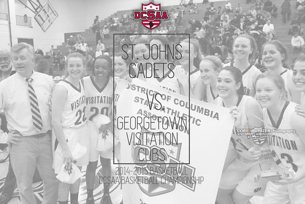 St  John's vs Georgetown Visitation  - DCSAA Girls Title Game