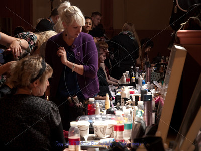 Preparation for the Couture Show