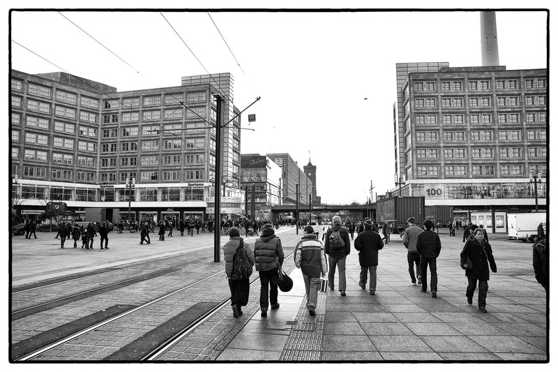 Alexanderplatz, Berlin.