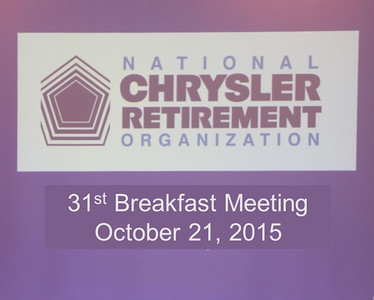 31st Breakfast Meeting October 21, 2015