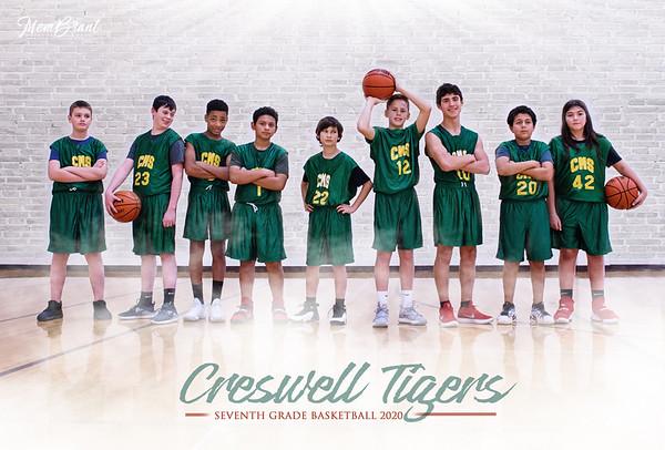 Creswell Tigers Boys 7th Grade