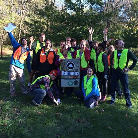 10.19.14 Tree Maintenance at PVSP near Visitors Center