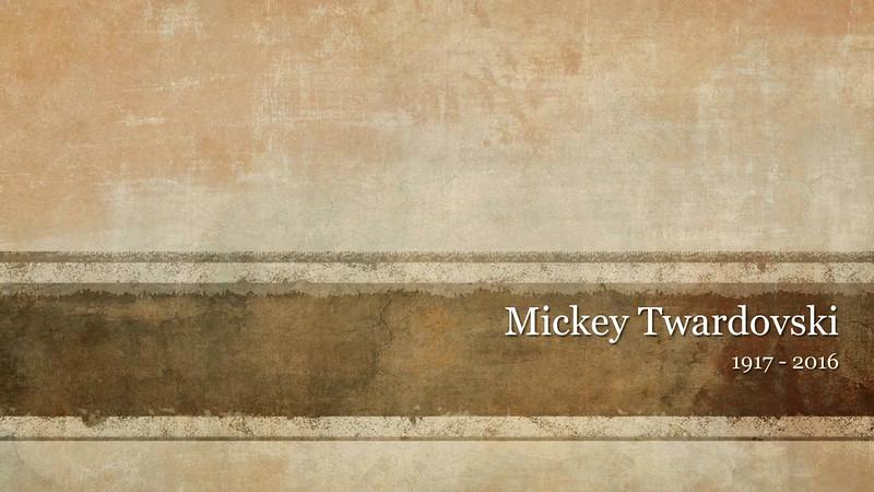 Mickey Twardovski Memorial