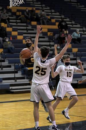 Mt Pleasant vs Saginaw Varsity Boys Basketball 2-19-2021