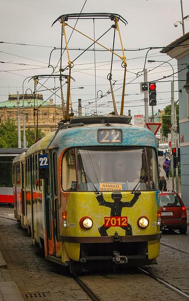 Prague: The #22 Tram, Mala Strana