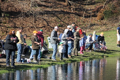 Kid's Spring Fishing Derby, Day 1 of 2, Kellner's Dam, Tamaqua (4-26-2014)