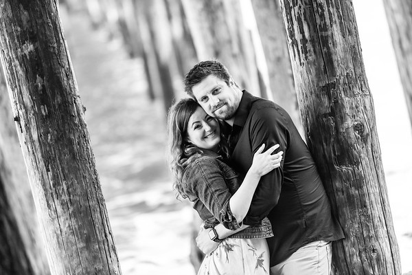 Kelly and Michael Engagement @ Capitola Beach