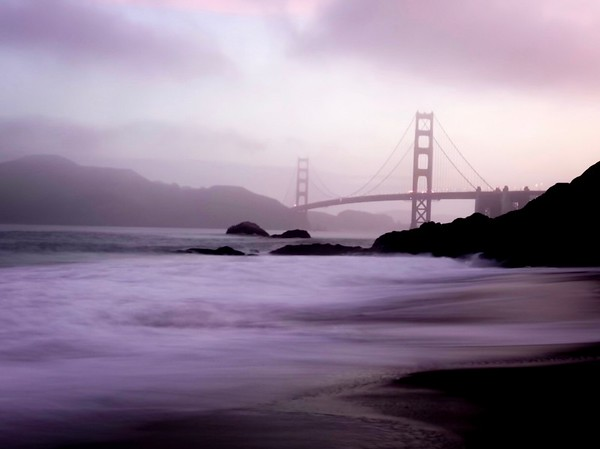 Baker Beach view