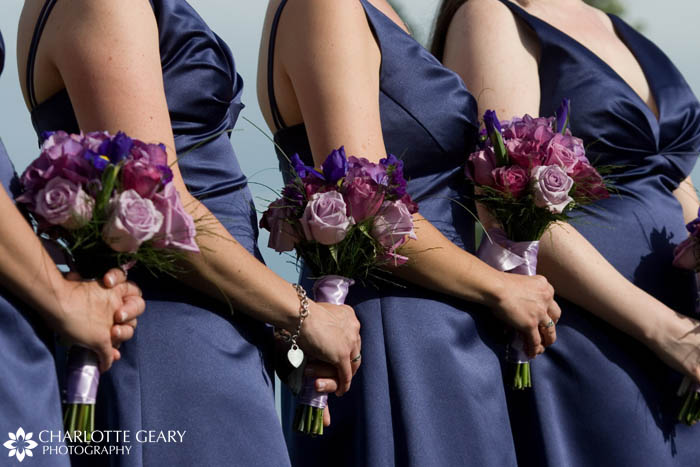 Indigo bridesmaid dresses