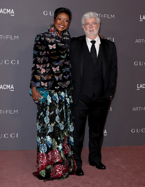 GEORGE LUCAS & WIFE