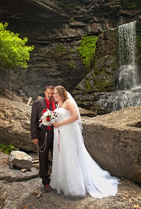 Wedding Photography by Mariana Roberts Wedding Photography at Fillmore Glen State Park NY and Syracuse NY