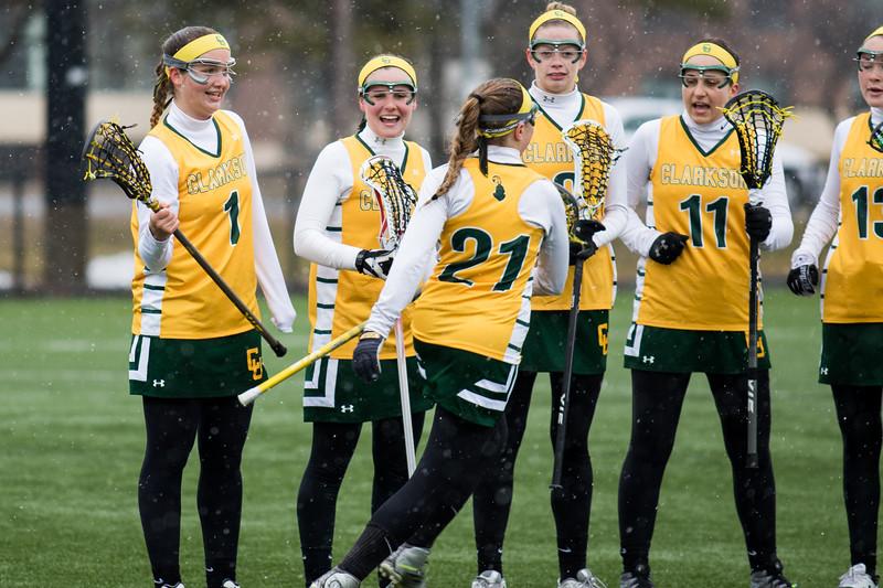Clarkson Athletics: Women Lacrosse vs. Skidmore University. Photos from the first 20 min.