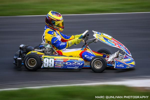 Motorsport Ireland Karting Championship 2018 - Round 6 - Mondello Park