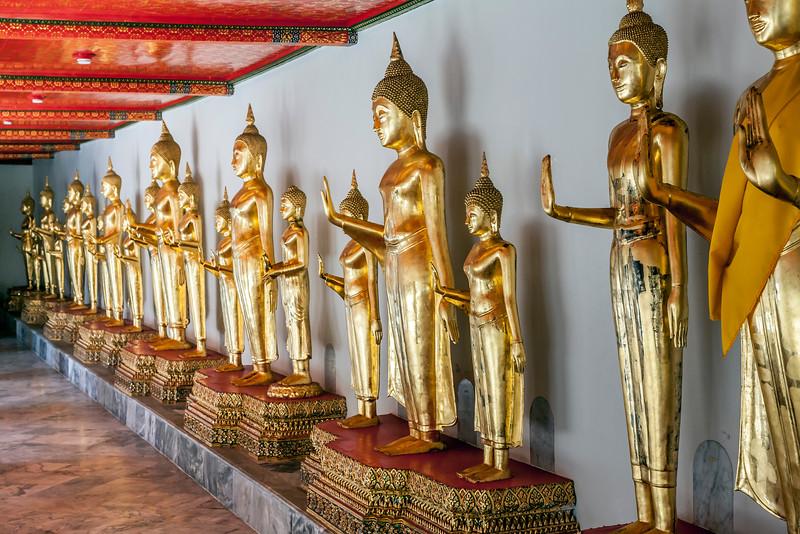 Standing Buddhas