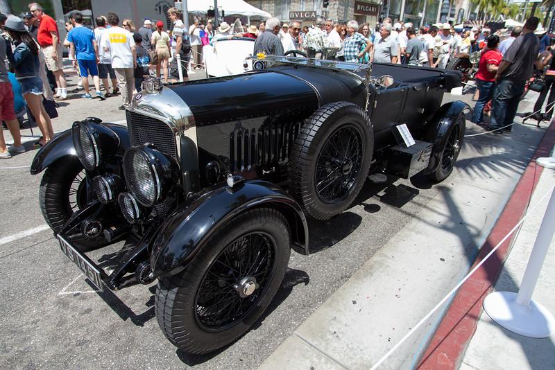 1929 Bentley 4.5 Liter Tourer by Vanden Plas