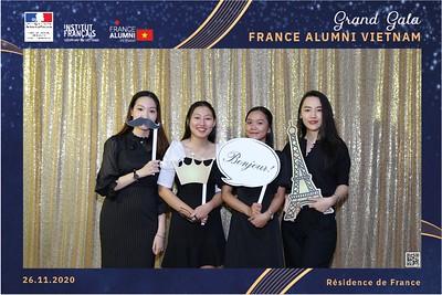 Consul France | France Alumni Vietnam Grand Gala instant print photo booth | Chụp ảnh in hình lấy liền Sự kiện tại TP Hồ Chí Minh | Photo Booth Vietnam