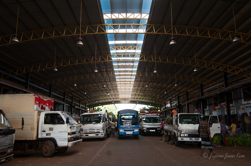 Dambulla whole sale market