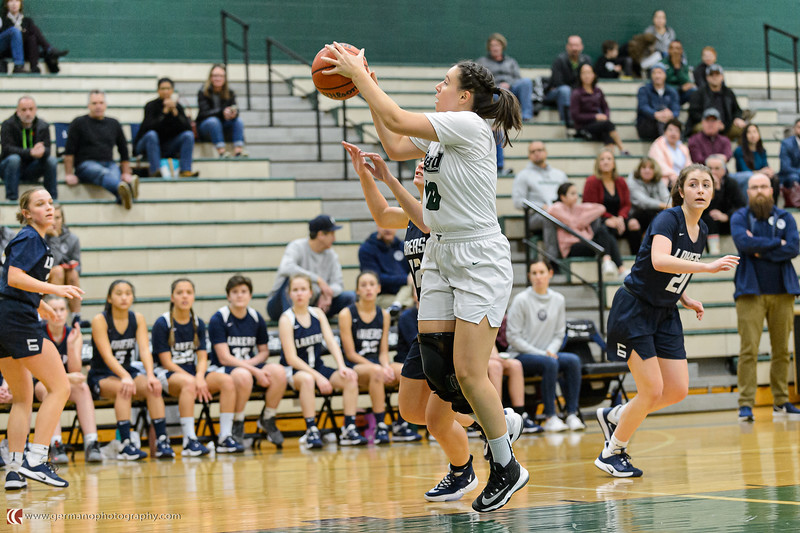 THS Girls JV Basketball vs Lake Oswego