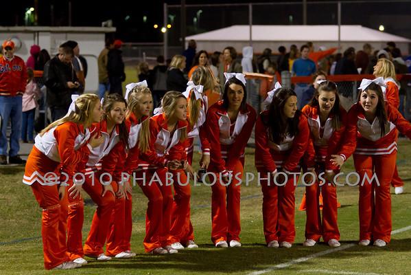 Cypress Creek @ Boone Varsity Cheer Senior Night - 2010