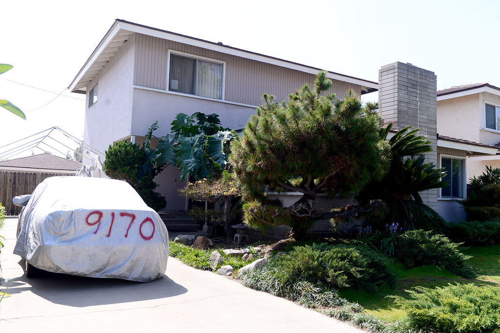 . Bitcoin founder Satoshi Nakamoto lives at this Bidwell Street home in Temple City Thursday, March 6, 2014. (Photo by Sarah Reingewirtz/Pasadena Star-News)