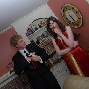 2010 Prom - Spang's House