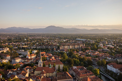 2013-09-Ljubljana from the castle hill
