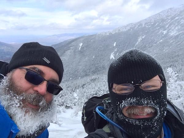 2/6/16 Mt Washington (as far as weather allowed)