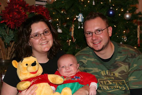 Jonah's 1st Christmas - December 25, 2006