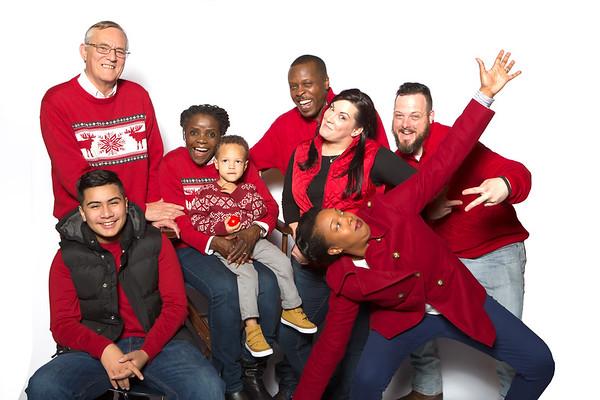Breaune Crouch & Family Christmas Photos