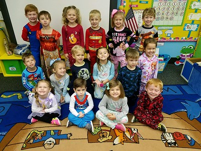 PreK4 pajama party