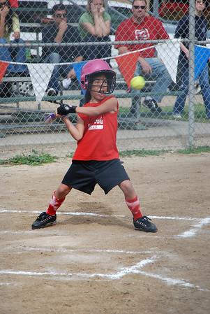 Alana's softball '09 Lightning Bolts