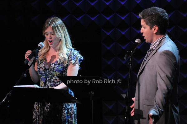 Kathleen Montelone, Howie Michael Smith photo by Rob Rich © 2014 robwayne1@aol.com 516-676-3939