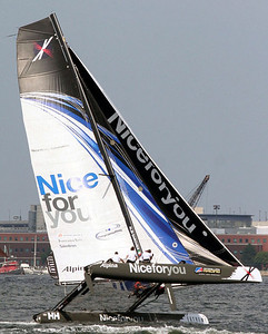 extreme Sailing Series Boston