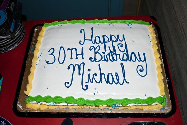 Michael's 30th Birthday