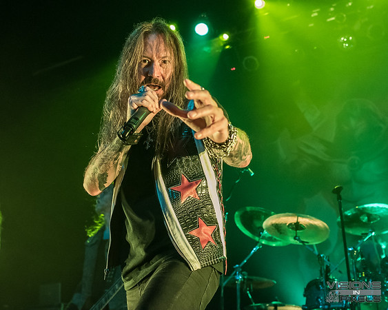 Hammerfall, Flotsam and Jetsam, HellChamber and Medevil June 9th, 2018