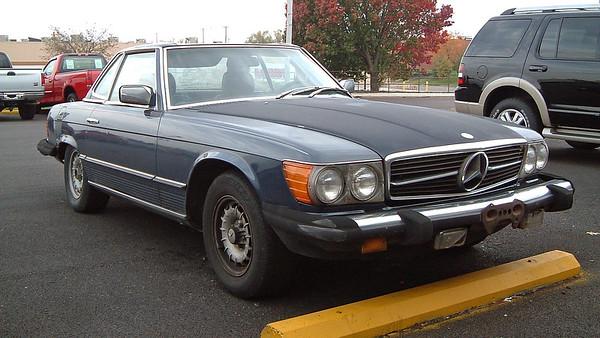 November 8, 2005:  1982 Mercedes-Benz 380SL trade-in .  .  .