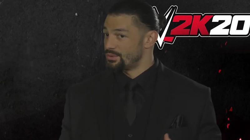 How they asked Roman Reigns to be on the cover of WWE 2K20.mp4