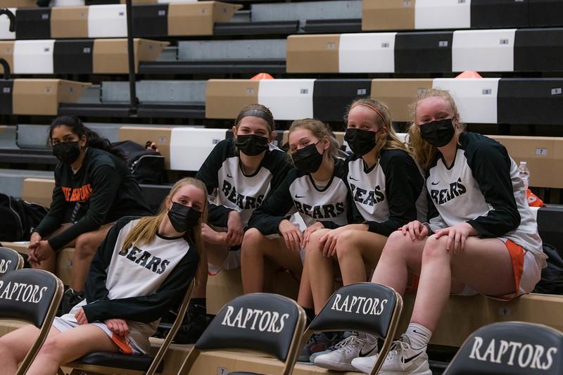 WBL Girls Varsity Basketball Section -V- East Ridge 2021