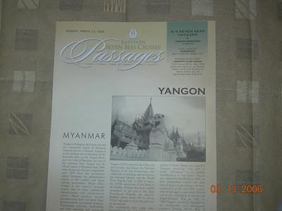 Yangon (Rangoon), Myanmar (3/13/2006)