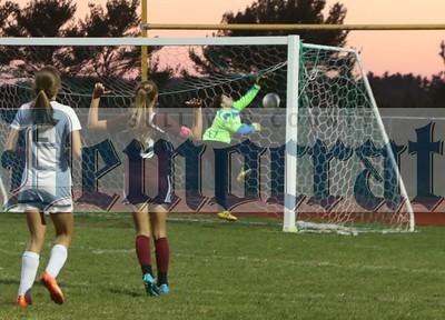 Eldred vs. Kingston girls soccer