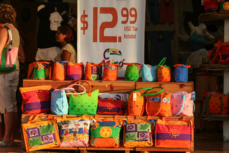 Shopping is colorful and fun in Cancun.