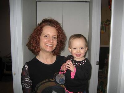 Jen & Mia -- Mother's Day 2008