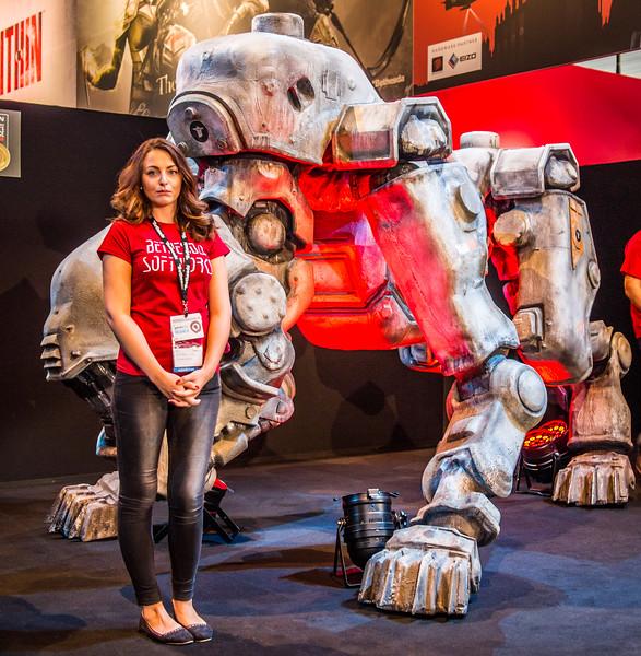 Wolfenstein at Gamescom 2013